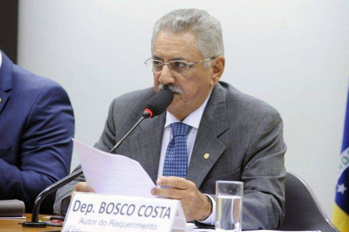 TRE cassa deputado federal Bosco Costa